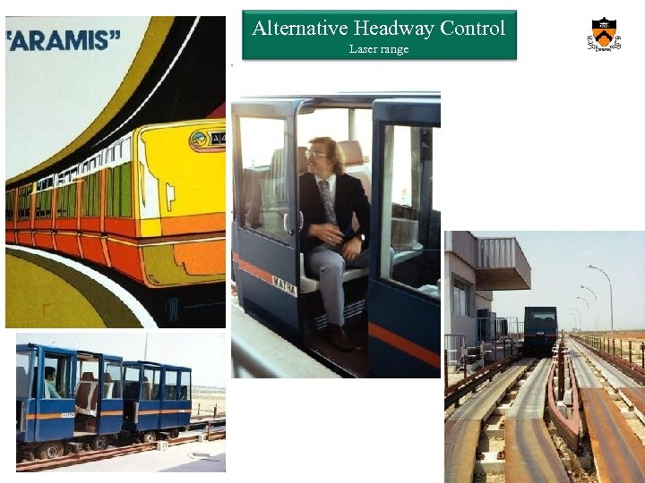 Orf 467 – Transportation Systems Analysis Fall 2013/14 Alternative Headway Control Laser range