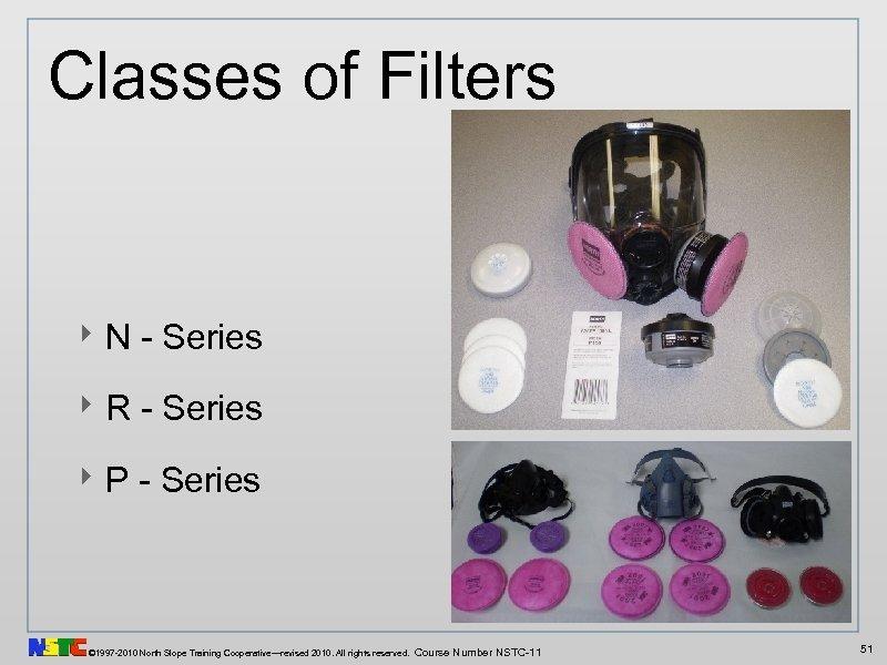 Classes of Filters ‣ N - Series ‣ R - Series ‣ P -