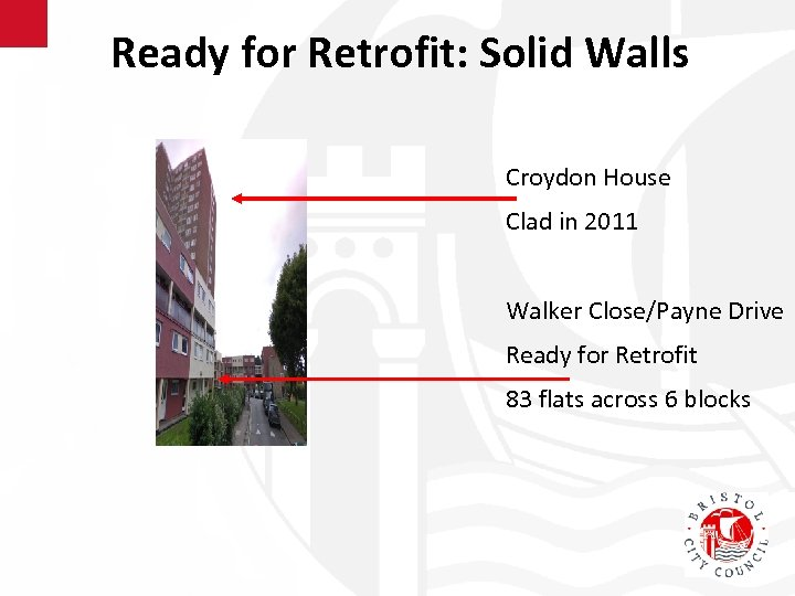 Ready for Retrofit: Solid Walls Croydon House Clad in 2011 Walker Close/Payne Drive Ready
