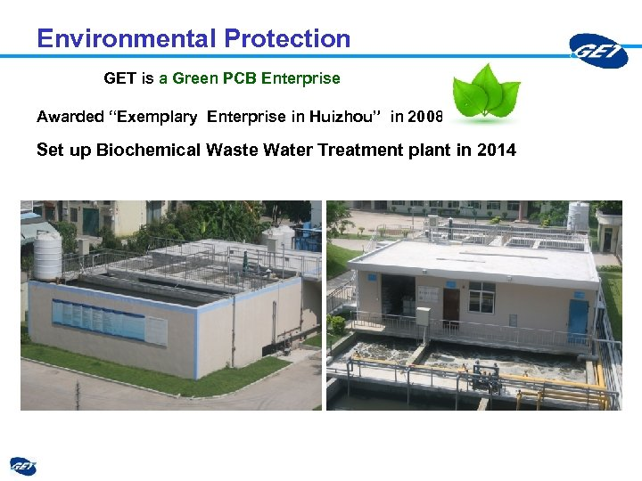 """Environmental Protection GET is a Green PCB Enterprise Awarded """"Exemplary Enterprise in Huizhou"""" in"""
