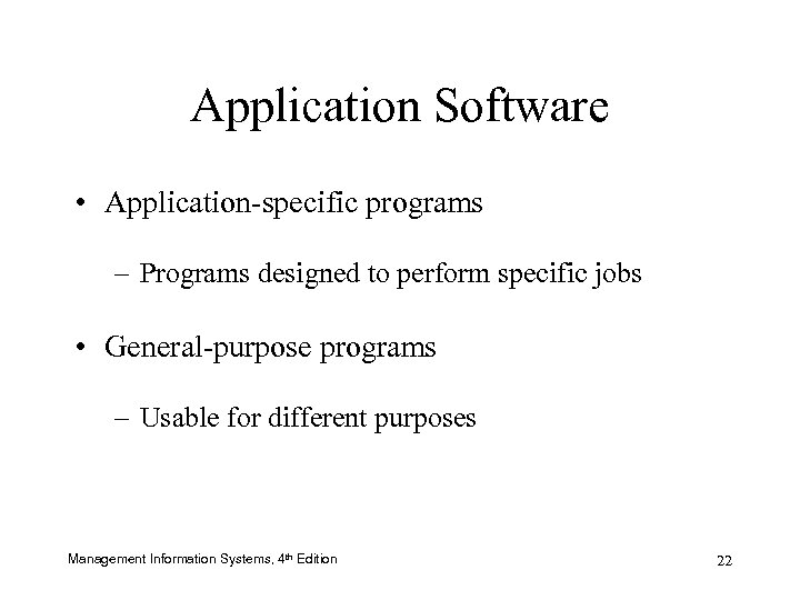 Chapter 5 Information Systems in Business Software Management