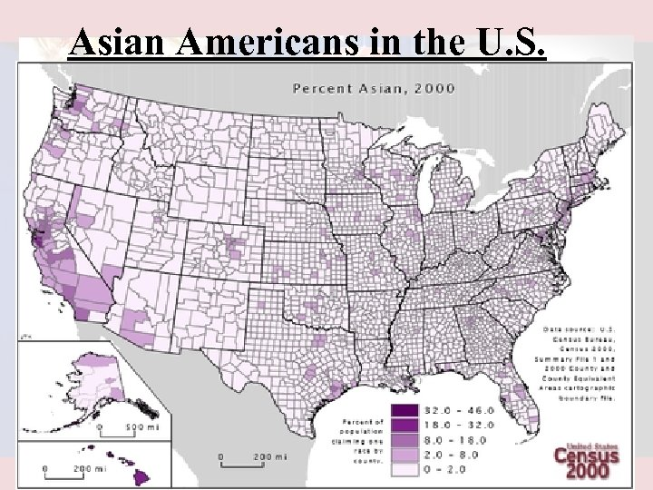 Asian Americans in the U. S.