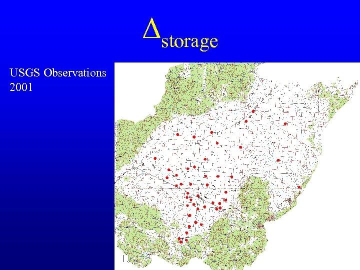 Δstorage USGS Observations 2001