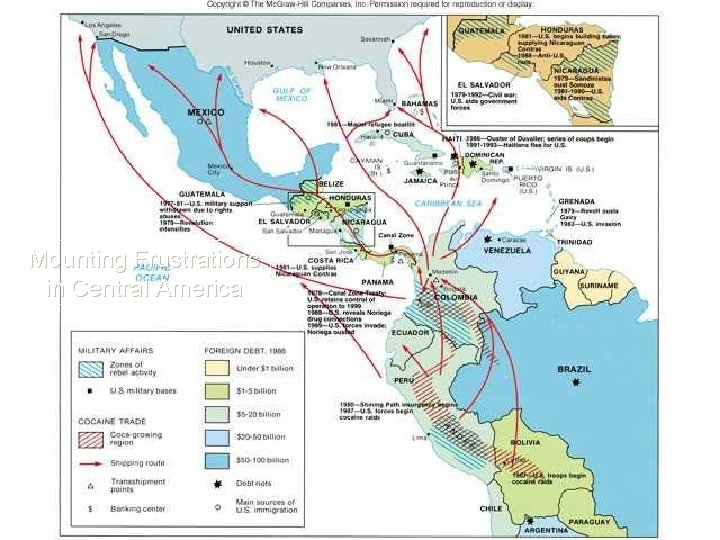 Mounting Frustrations in Central America HIST 1302 United States History, part 2