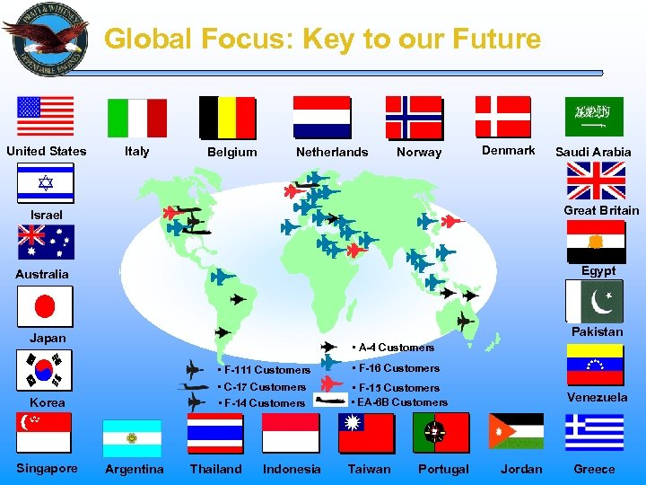 Global Focus: Key to our Future United States Italy Belgium Netherlands Norway Denmark Great