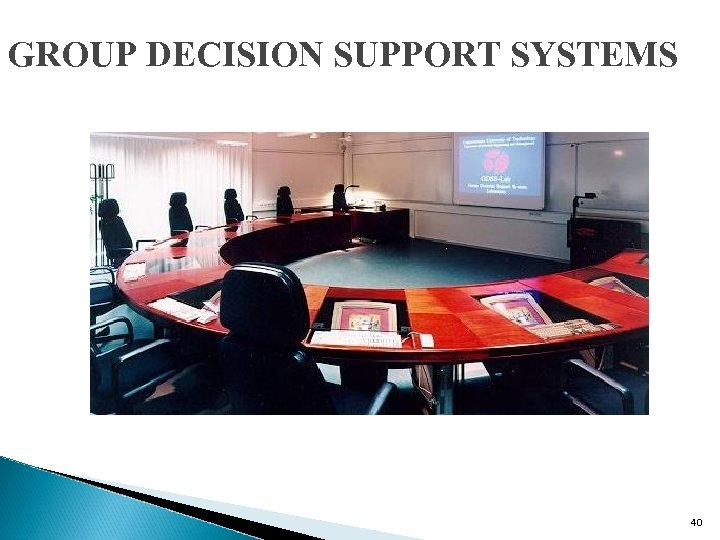 GROUP DECISION SUPPORT SYSTEMS 40