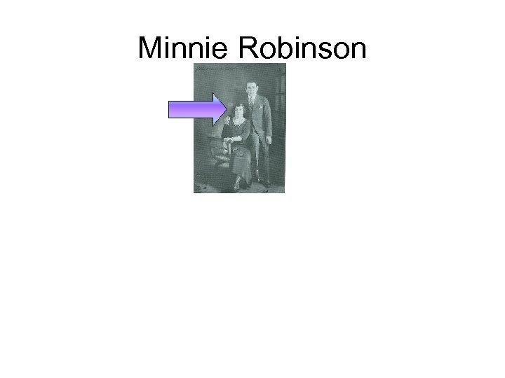 Minnie Robinson