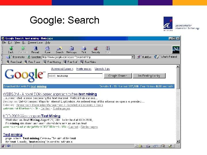 Google: Search