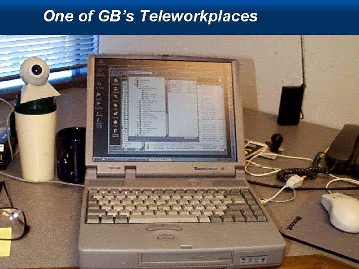 One of GB's Teleworkplaces DVC ' 98 s