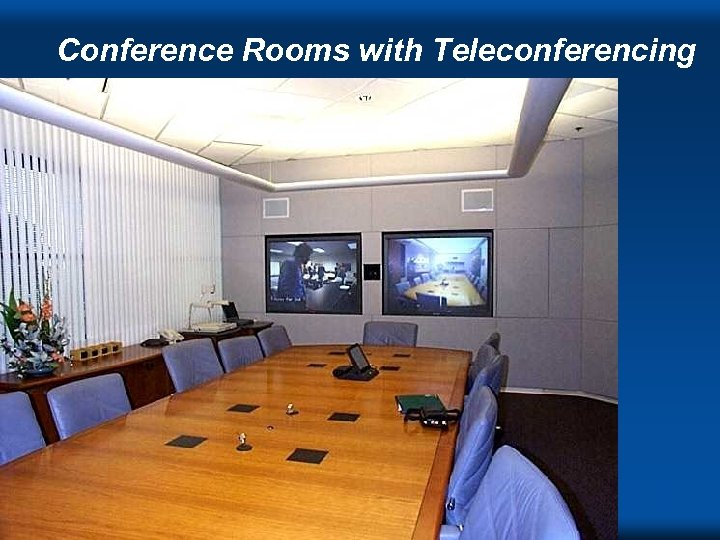Conference Rooms with Teleconferencing DVC ' 98 s