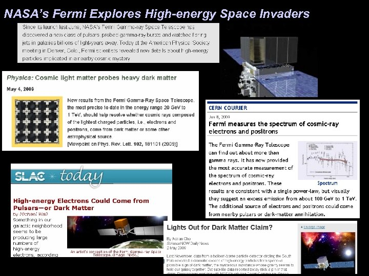 NASA's Fermi Explores High-energy Space Invaders