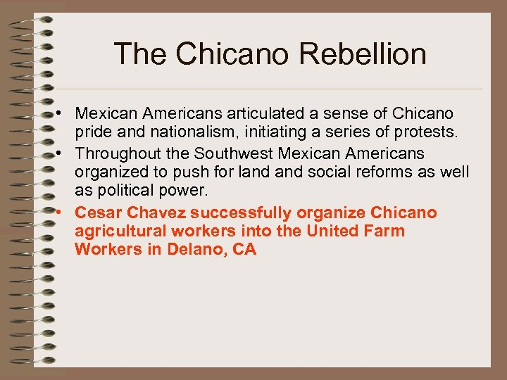 an analysis of the chicano view on mexican immigration of 1970s in america The san diego chicano movement and the origins of border art   log in | .