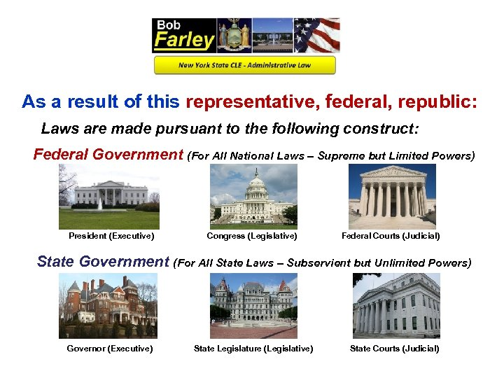 As a result of this representative, federal, republic: Laws are made pursuant to the