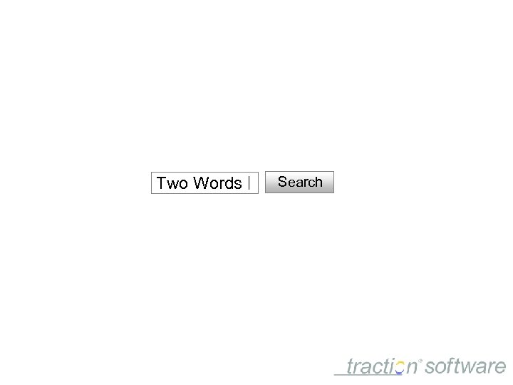 Two Words Search