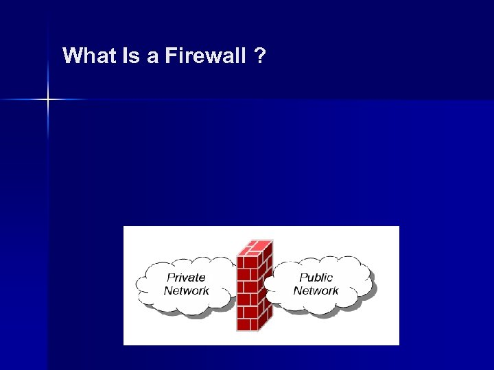 What Is a Firewall ?