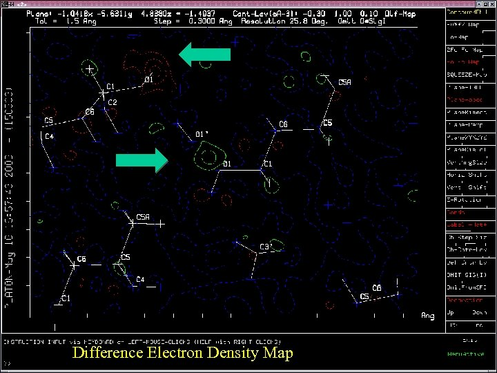 Difference Electron Density Map