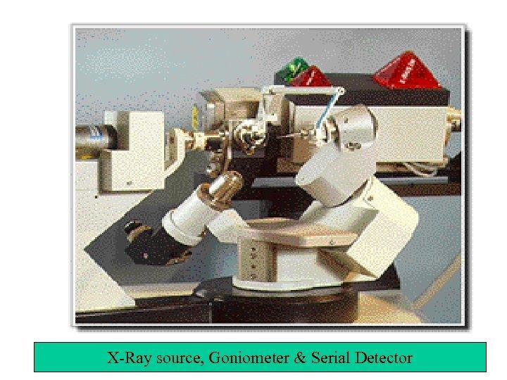 X-Ray source, Goniometer & Serial Detector