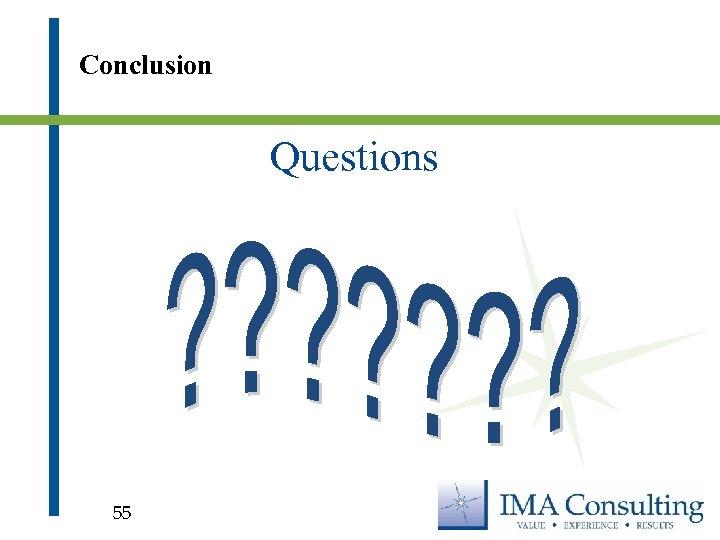 Conclusion Questions 55