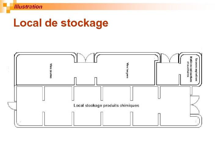 Illustration Local de stockage