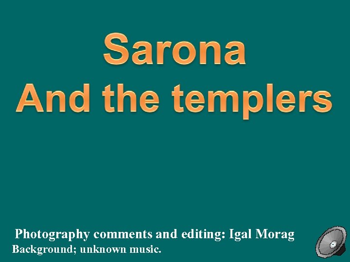 Below (image taken from the top of Azrielli Tower): Sarona on both sides of