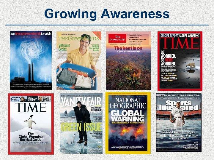 Growing Awareness