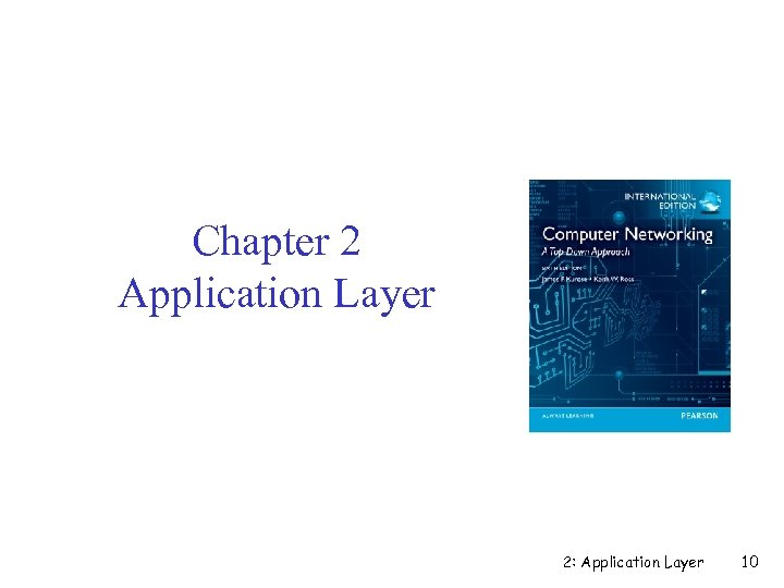 Chapter 2 Application Layer 2: Application Layer 10