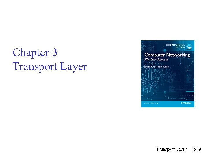 Chapter 3 Transport Layer 3 -19