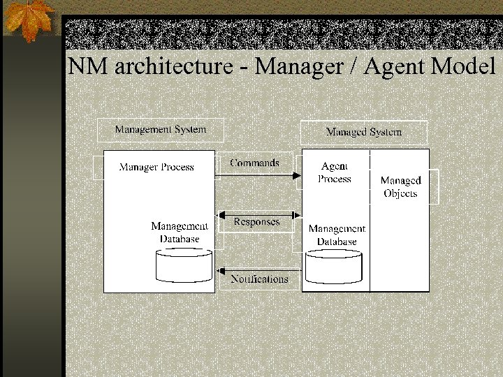 NM architecture - Manager / Agent Model