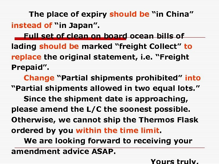 """The place of expiry should be """"in China"""" instead of """"in Japan"""". Full"""