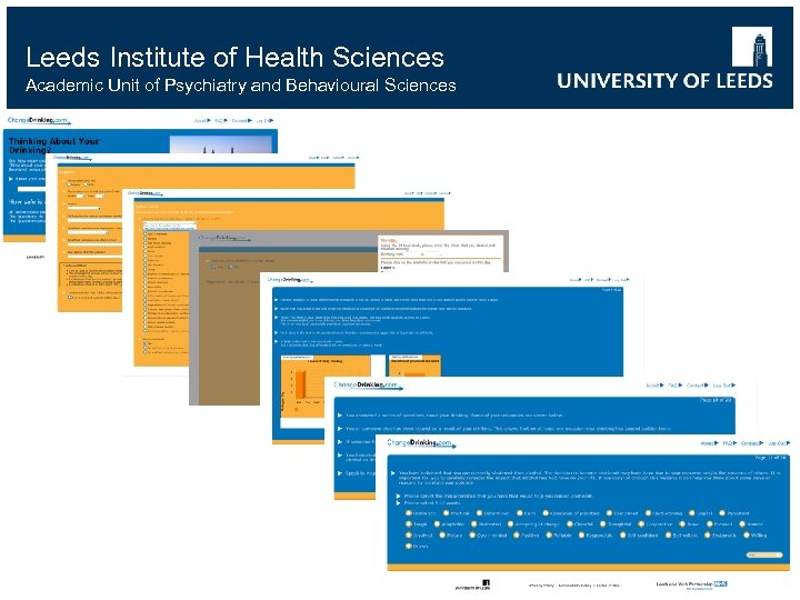 Leeds Institute of Health Sciences Academic Unit of Psychiatry and Behavioural Sciences