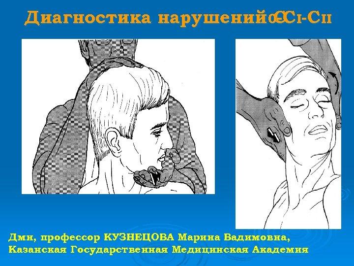 Диагностика нарушений 0 С I-C II -C Дмн, профессор КУЗНЕЦОВА Марина Вадимовна, Казанская Государственная