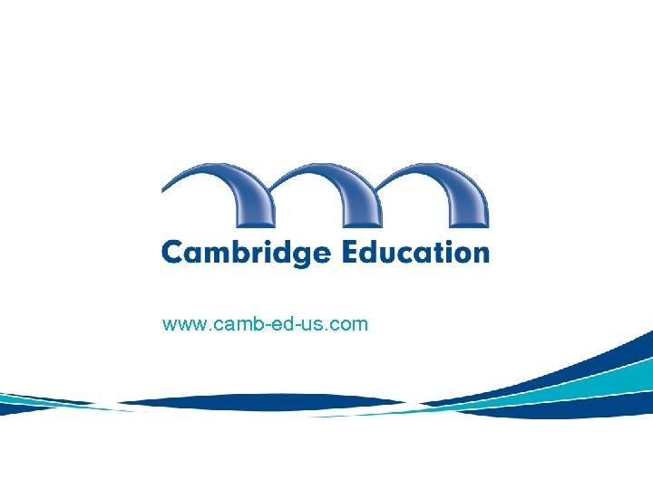 www. camb-ed-us. com