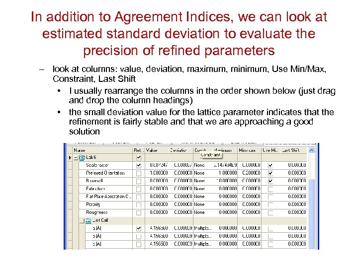 In addition to Agreement Indices, we can look at estimated standard deviation to evaluate