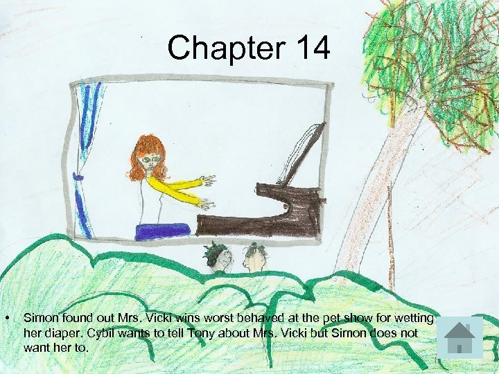Chapter 14 • Simon found out Mrs. Vicki wins worst behaved at the pet