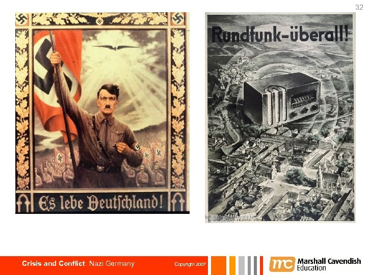 32 Crisis and Conflict: Nazi Germany Copyright 2007