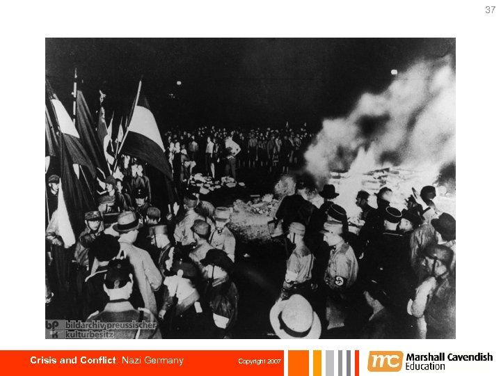 37 Crisis and Conflict: Nazi Germany Copyright 2007