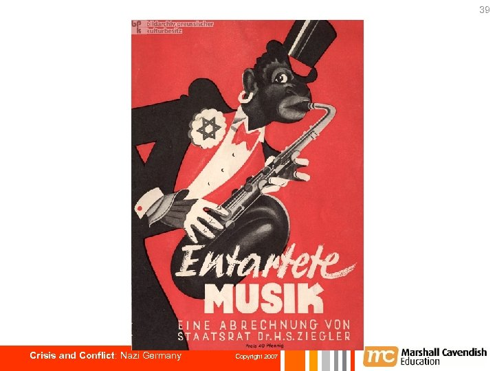 39 Crisis and Conflict: Nazi Germany Copyright 2007