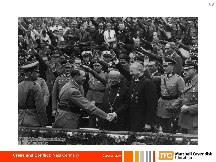 69 Crisis and Conflict: Nazi Germany Copyright 2007