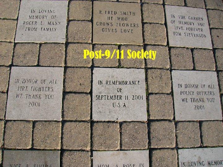Post 9/11 Society Joshua Kjerulf Dubrow Polish Post-9/11 of Sciences Academy Society septembereleven 2001.