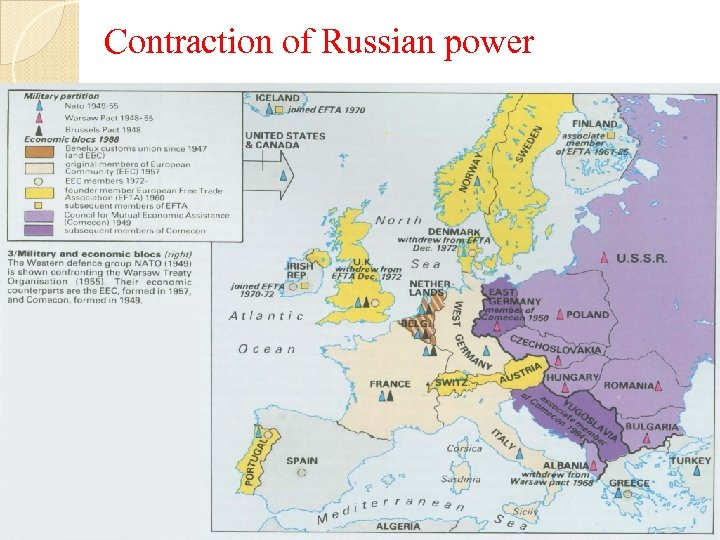 Contraction of Russian power