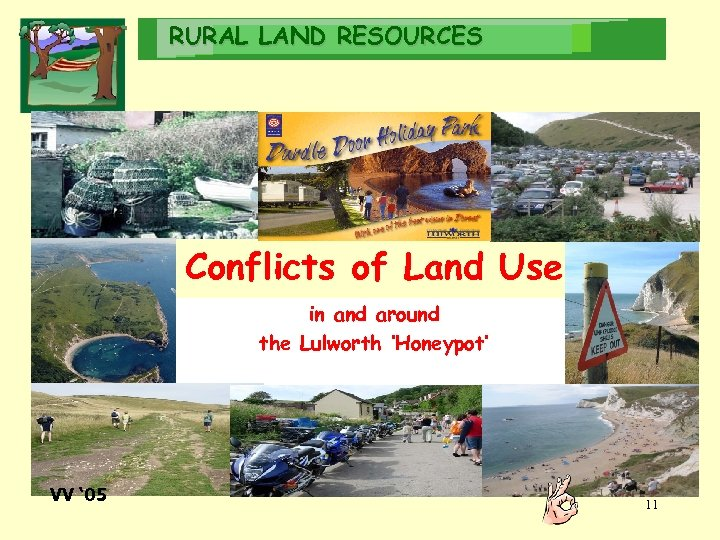 RURAL LAND RESOURCES Conflicts of Land Use in and around the Lulworth 'Honeypot' VV
