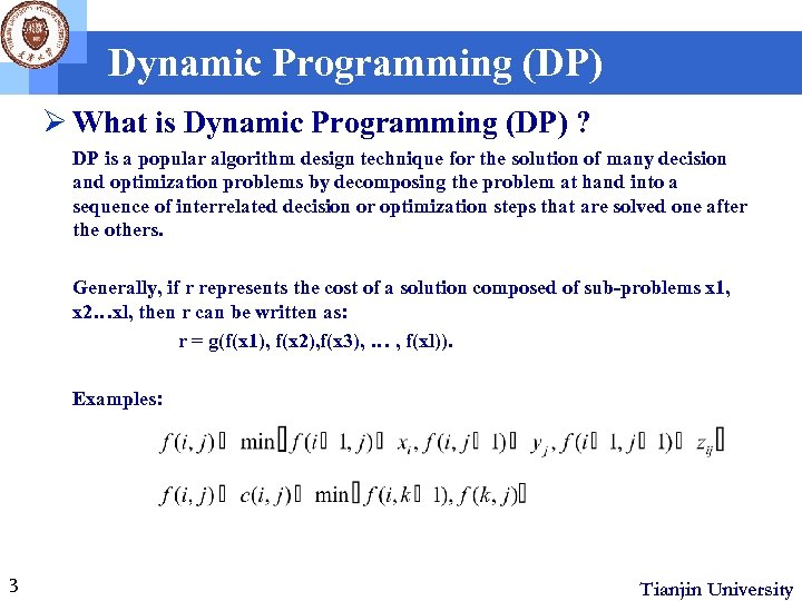 Adaptive Data Refinement for Parallel Dynamic Programming