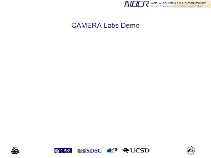 CAMERA Labs Demo