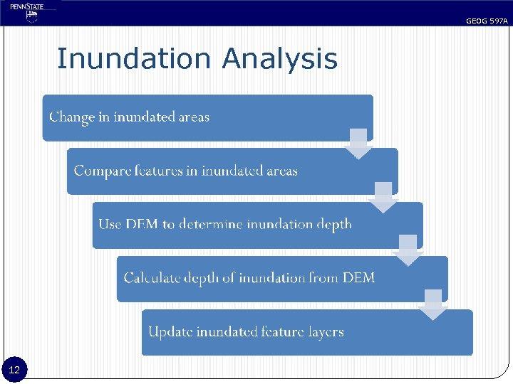 GEOG 597 A Inundation Analysis 12