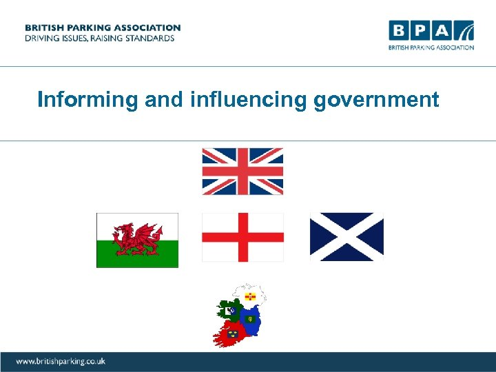 Informing and influencing government