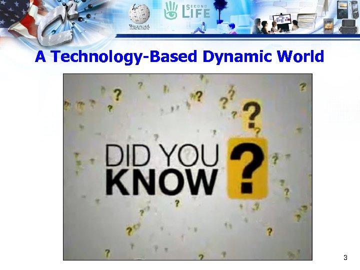 A Technology-Based Dynamic World 3