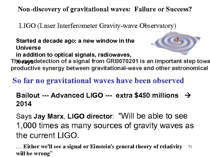 the origin and history of gravitational waves Gravitational waves are distortions in the fabric of space and time massive objects like planets, stars and black holes can create curves in that fabric, like a bowling ball on a trampoline when.