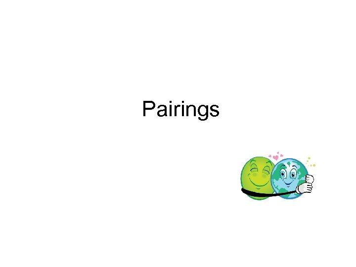 Pairings