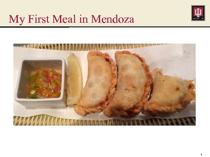 My First Meal in Mendoza 3