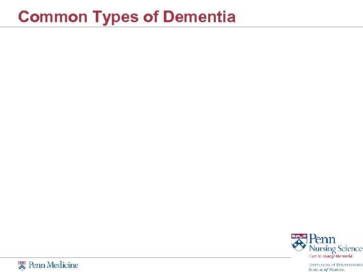 Common Types of Dementia